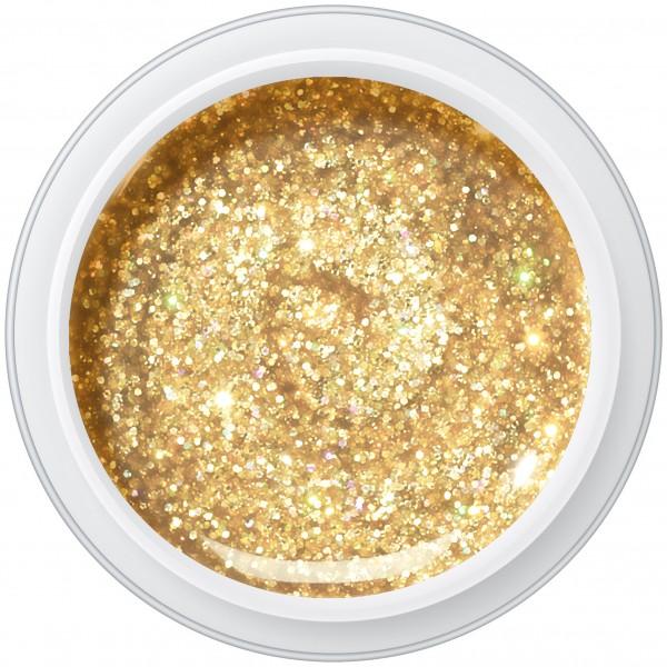 GLITTER GOLD Farbgel