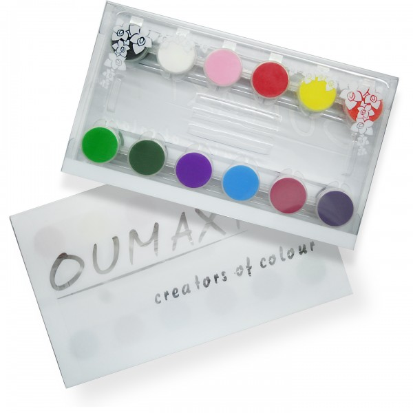 OUMAXI ONE STROKE Nail Art Farben / Set