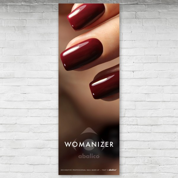 """WOMANIZER"" Poster Colour-Gel"