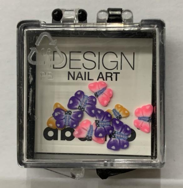 "Nail Art FIMO Einleger ""Butterfly"""