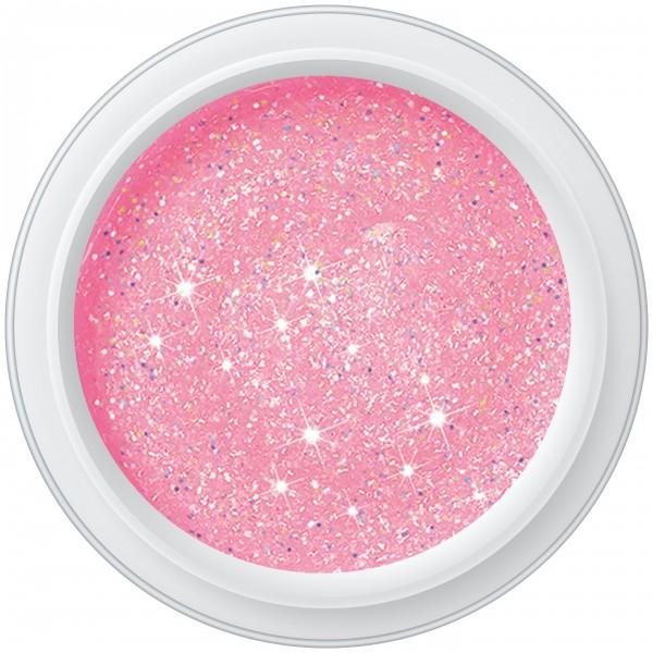 GLITTER ROSÉ LIGHT Farbgel