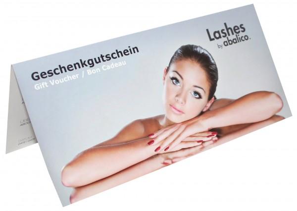 """Geschenk-Gutschein """"Lashes by abalico"""""""