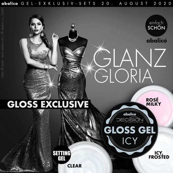 GLANZ & GLORIA – Gloss Gel Exclusiv (Set)