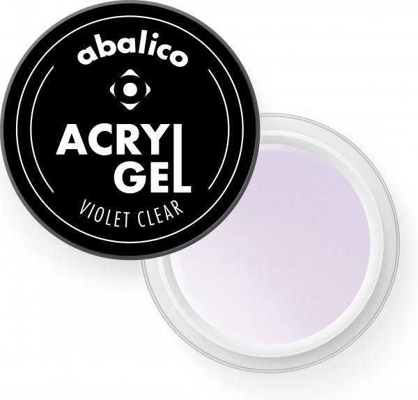 VIOLET CLEAR abalico Acryl-Gel