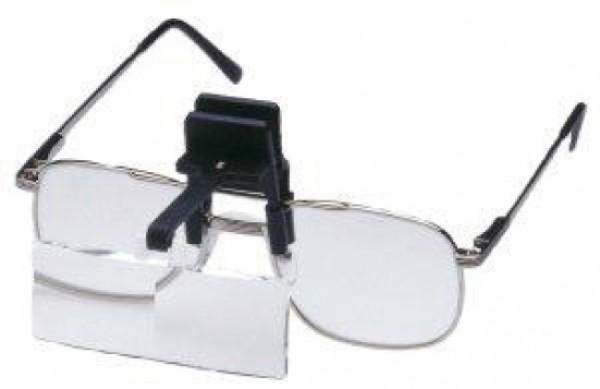 Lupen-Box mit Brillenclip (2, 2,5 und 3-fachVergrößerung)