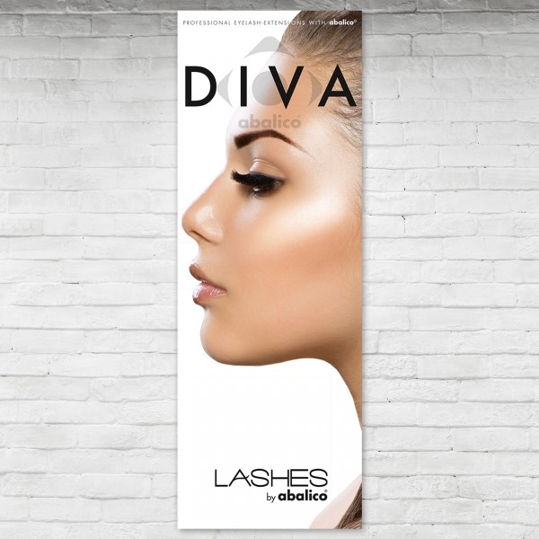 DIVA LASHES Poster