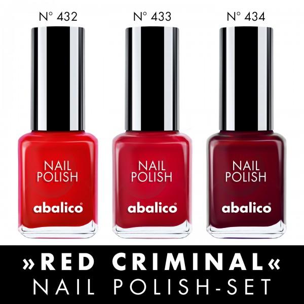 """Nagellack-Set """"RED CRIMINAL"""""""