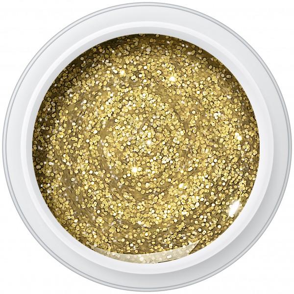 GLITTER PURE GOLD Farbgel