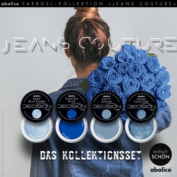 """JEANS COUTURE"" Farbgelset Trend FS 2020"