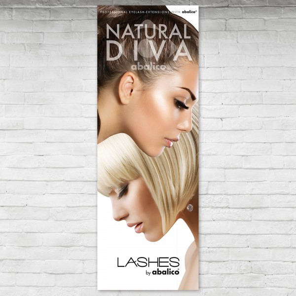 NATURAL DIVA LASHES Poster