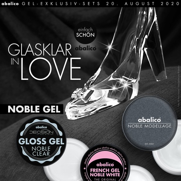 GLASKLAR IN LOVE... NOBLE Modellage (Set)