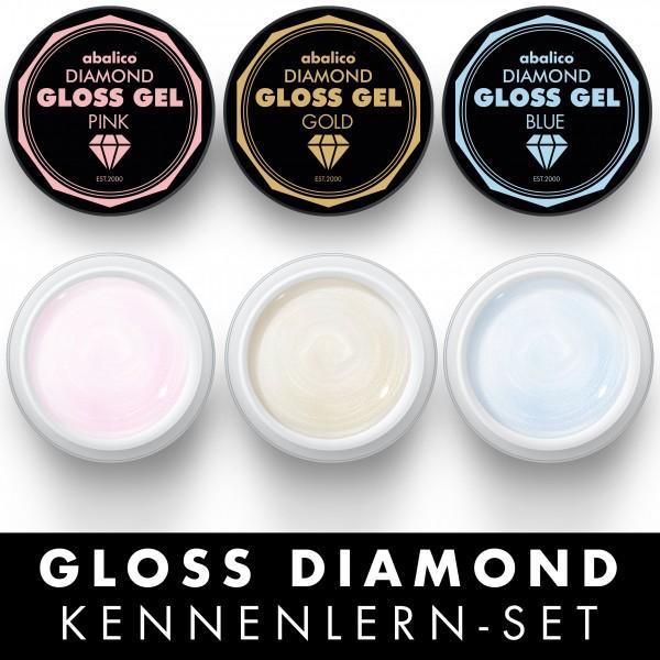 "DECISION GLOSS GEL ""DIAMOND"", Kennenlernset"