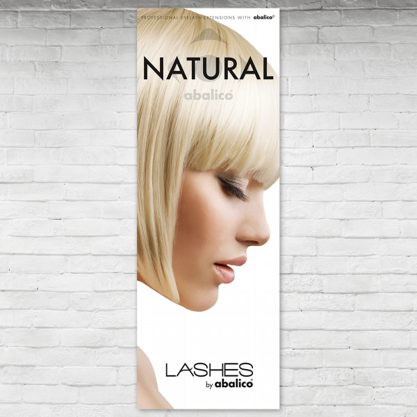 NATURAL LASHES Poster