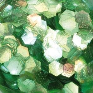Hexagonal Design, Grün